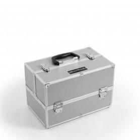 Valisette à compartiments grise MALAGA Beautélive