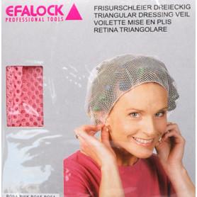 Voilette coiffure rose