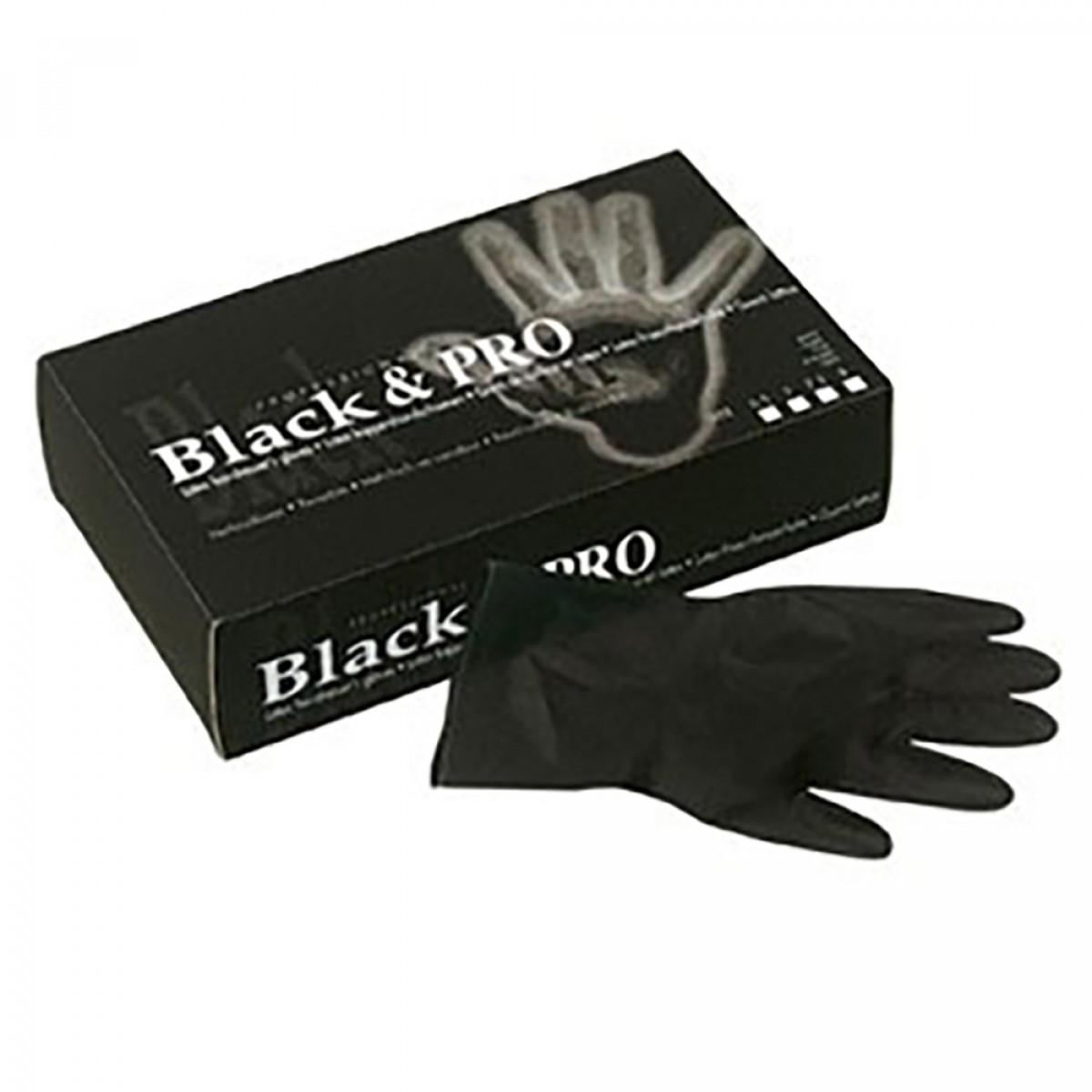M 8//9 Paire gants latex noirs Paire gants latex noirs M 8//9 Jacques Seban