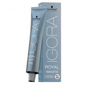 Coloration permanente éclaircissante Blonds froids - 60ml - Igora Royal Highlifts