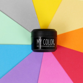 Gel de couleur ongles UV et LED - 5ml - My Color
