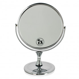 Miroir Grossissant X7 Double face chrome