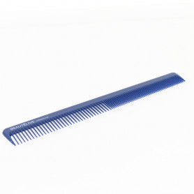 Peigne de coupe ABS en biais 18cm, couleur bleue