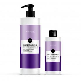 Shampoing déjaunisseur argan - Beautélive Expert, Silver - Blonds et décolorés, Gris/blancs