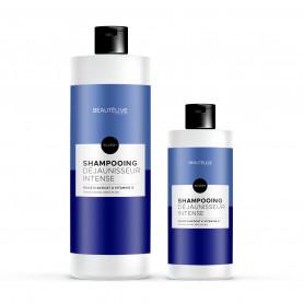 Shampoing déjaunisseur - Beautélive Expert, Silver + - Blonds et décolorés, Gris/blancs