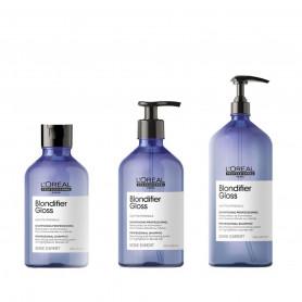 Shampoing illuminateur de blond - Blondifier - Blonds, gris, blanc