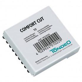 Etui de 10 lames pour Rasoir Tondéo Comfort Cut