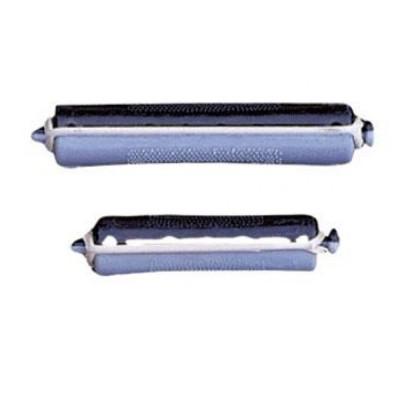Bigoudis permanente noir/gris 15mm x12 - Bouclé