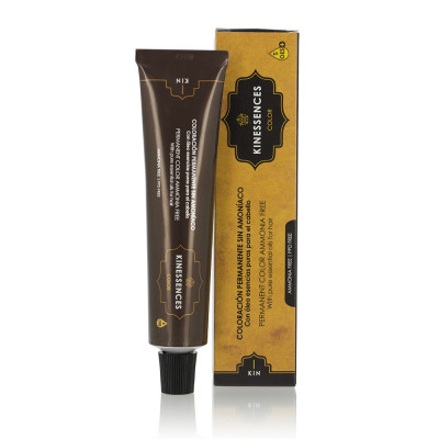 Coloration permanente sans ammoniaque aux 5 huiles - 60ml - Kinessences