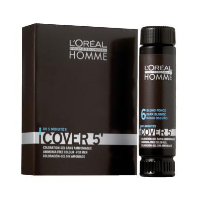 Coloration gel pour homme sans ammoniaque - 50ml - Cover'5