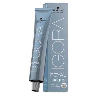 Coloration permanente éclaircissante Blonds froids - 60ml - Igora Royal Highlifts