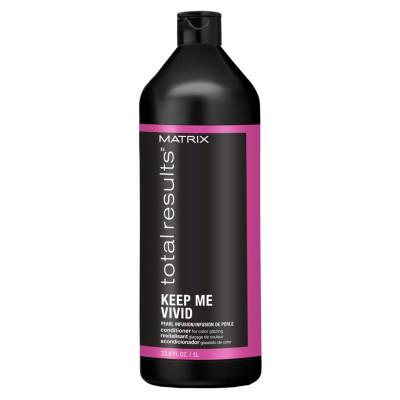 Conditioner couleur Keep Me Vivid - 1000ml - Total Results - Colorés et méchés