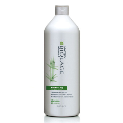 Conditioner fortifiant - 1000ml - Biolage Advanced, Fiberstrong - Abîmés et cassants