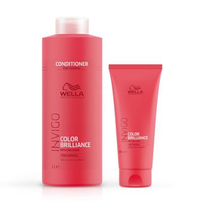 Conditionner Color Brilliance cheveux fins - Invigo - Colorés et méchés