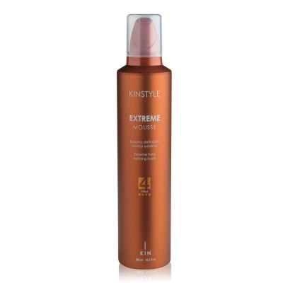 Mousse volume fixation extrême, Extreme Mousse - 300ml - Kinstyle - Volume