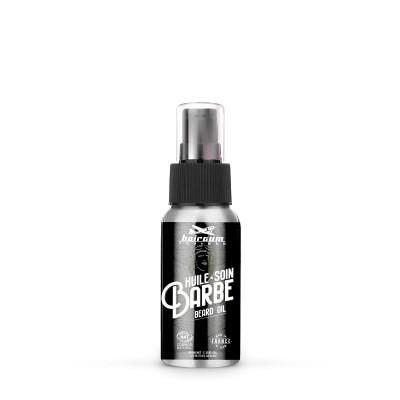 Huile Soin Barbe - 40ml - Hairgum For Men - Hydratation - Brillant