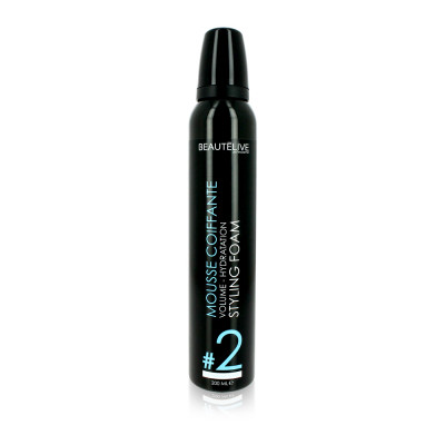 Mousse coiffante volume et hydratation - 200ml - Volume