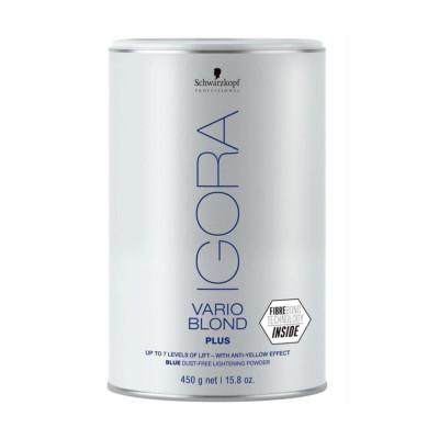 Poudre décolorante compacte blanche - 450g - Igora Vario Blond