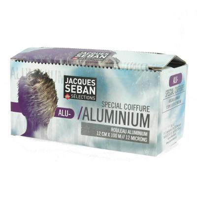Papier aluminium 12 microns, 12cm x 100m