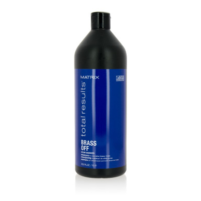 Shampoing rehausseur de tons froids Brass Off - 1000ml - Total Results