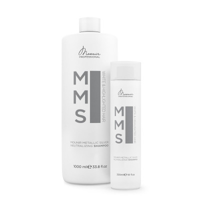 Shampoing neutralisant Mounir Metalic Silver