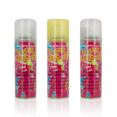 Spray à paillettes pour cheveux - 125ml - Pailleté