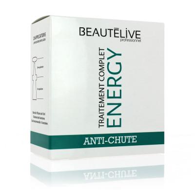 Cure anti-chute 8 semaines - 10x10ml - Beautélive Expert, Energy-Beautélive - Clairsemés