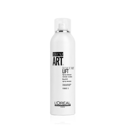 Spray-mousse volume racines Volume Lift - 250ml - Tecni Art - Fins et Plats - Volume