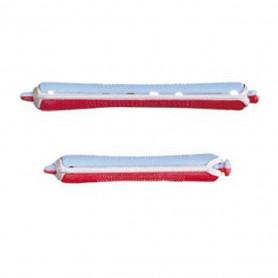 Bigoudis permanente bleu/rouge 10mm x12 - Bouclé