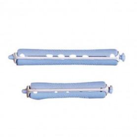 Bigoudis permanente bleu/gris 12mm x12 - Bouclé