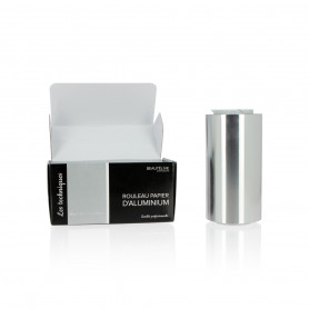 Papier aluminium 15 microns, 12cmx100m