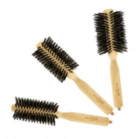 Brosse brush manche bois Beautélive