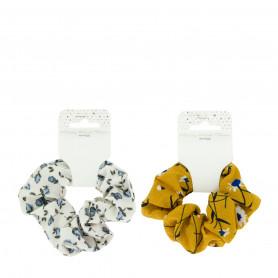 Chouchou Tissu motif floral Beautélive