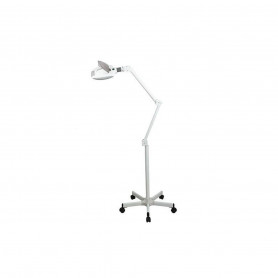 Lampe loupe Led 5 dioptries Pied métal 5 branches 1005