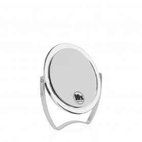 Miroir double face chevalet grossissant x10