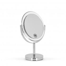 Miroir double face sur pied 15cm Metal Acrylique gross. x10