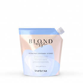 Poudre décolorante Blondesse Bleue 9 tons 500g Inebrya