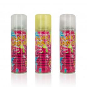 Spray à paillettes pour cheveux