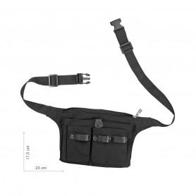 Trousse ceinture Pratik Noir