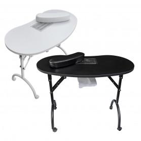 Table manucure pliante avec aspirateur SWAN - Pliant