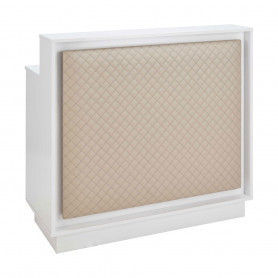 Caisse ZOE Eclairage LED Structure Blanc Gloss