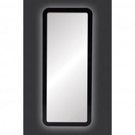Coiffeuse THOMAS Noire éclairage LED