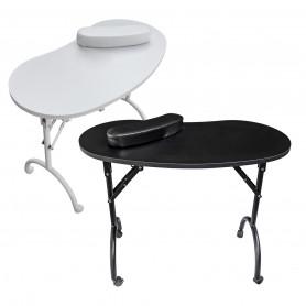 Table manucure pliante avec tiroir LING