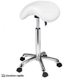 Tabouret Mobile Antillo blanc