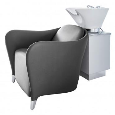 Bac Noir Maria C Fix + meuble support cuvette