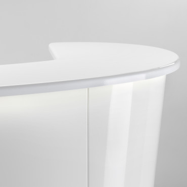 Caisse Pandora Slim blanc brillant