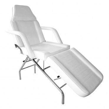 Fauteuil Esthétique Blanc OLMEDO 2