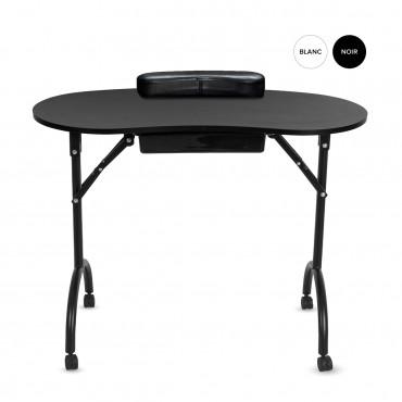 Table manucure pliante avec tiroir LING - Pliant