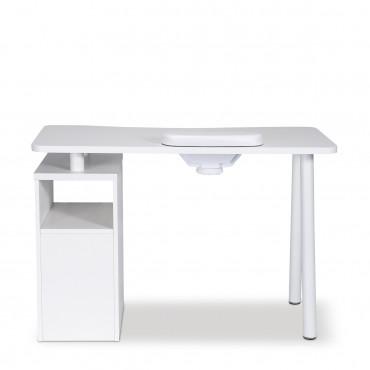 Table manucure Lucia avec aspirateur - Aspirateur intégré