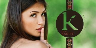 Focus sur K pour Karité, gamme de produits capillaires bio